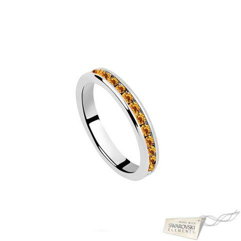Кольцо 127224 со стразами Сваровски Swarovski® Elements