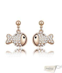 Goldfish 072659 кристаллы Swarovski
