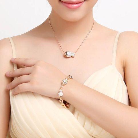 Golden Fish   кристаллы Swarovski Swarovski® Elements
