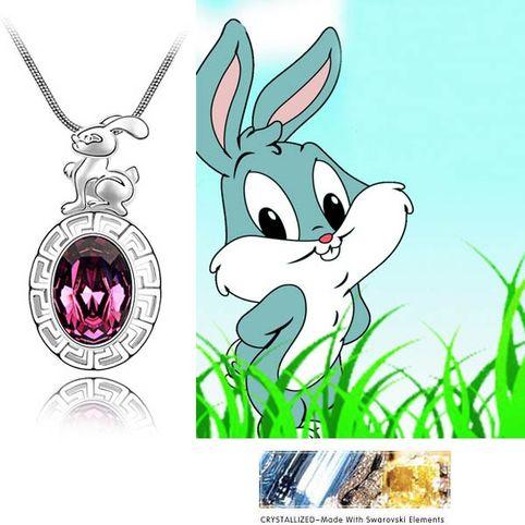 Заяц  кристаллы Swarovski Swarovski® Elements