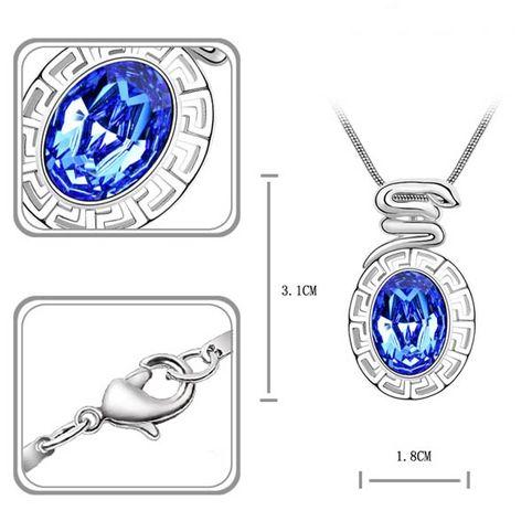 Змея  кристаллы Swarovski Swarovski® Elements