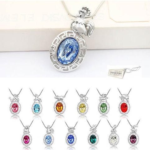 Петух  кристаллы Swarovski Swarovski® Elements