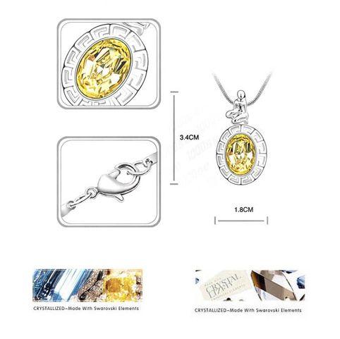 Дева  с кристаллами Swarovski Swarovski® Elements