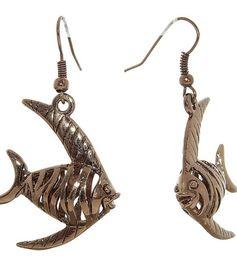 Серьги Рыбы