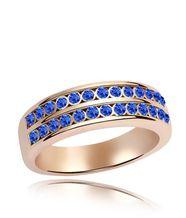 Кольцо a0048 кристаллы Swarovski