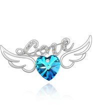 Love Angel Wings кристаллы Сваровски