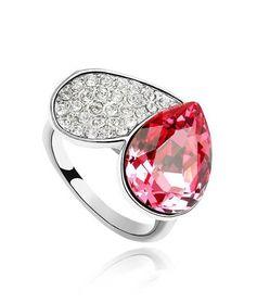 Lovely heart с кристаллами Swarovski