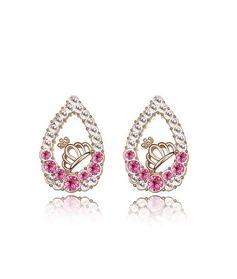 Серьги Слеза принцессы кристаллы Swarovski