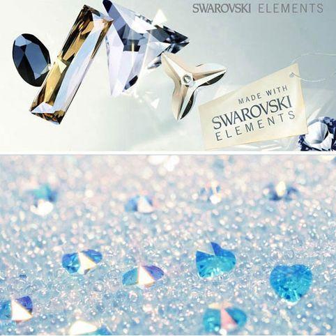 Подвеска Крест Swarovski® Elements